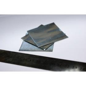 Cynk (folia) - 5cm x 5cm x 0,2mm
