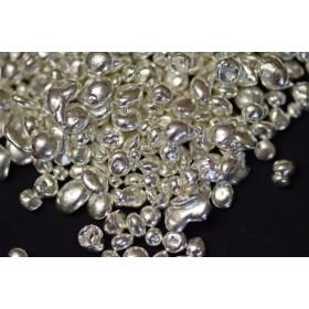 Srebro (granulat) 99,99% - 100g
