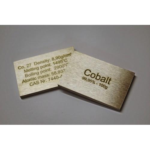 Kobalt (sztabka) 99,95% - 100g