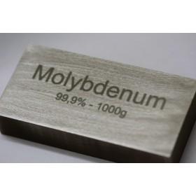 Molibden (sztabka) 99,9% - 1kg