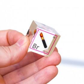 Brom (Acrylic cube 25x25x25mm)