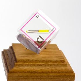 Chlor (Acrylic cube 25x25x25mm)