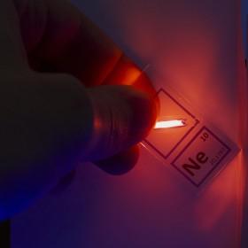 Neon brelok do kluczy