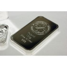 Sztabka srebra 999 - 100g